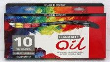 Komplet farb olejnych Graduate Oil Selection set Daler-Rowney 10x38 ml