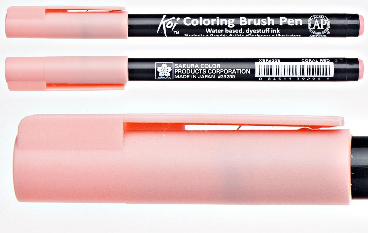 Pisak pędzelkowy Koi Coloring Brush Pen Sakura blender