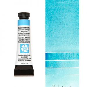 Farba akwarelowa Daniel Smith 051 Manganese Blue Hue extra fine watercolours seria 1 5 ml