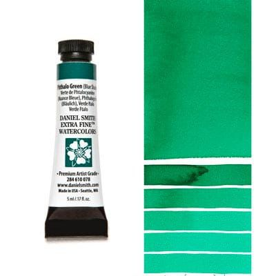 Farba akwarelowa Daniel Smith 078 Phthalo Green (Blue Shade) extra fine watercolours seria 1 5 ml