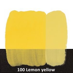 Farba akrylowa Idea Decor Maimeri 110 ml 100 Giallo limone