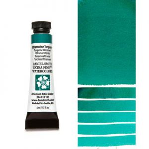 Farba akwarelowa Daniel Smith 105 Ultramarine Turquoise extra fine watercolours seria 1 5 ml