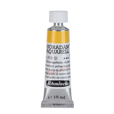 Farba akwarelowa Aquarell Horadam Schmincke nr 213 seria 2 Chrome yellow deep lead free tubka 15 ml