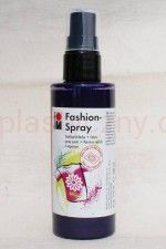Farba do tkanin z atomizerem 100 ml 039 fiolet oberżyna Marabu Fashion Spray