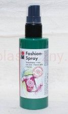 Farba do tkanin z atomizerem 100 ml 153 miętowa Marabu Fashion Spray
