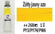 Farba olejna Van Gogh oil Talens 200 ml 268 AZO YELLOW LIGHT seria 1