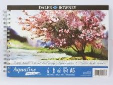 Blok do akwareli AQUAFINE SMOOTH Travel Book 300g 12 ark. 14,9x21cm A5