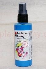 Farba do tkanin z atomizerem 100 ml 141 błękit nieba Marabu Fashion Spray