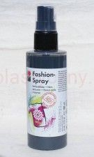 Farba do tkanin z atomizerem 100 ml 078 szara Marabu Fashion Spray