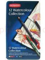 Kredki akwarelowe Watercolour Collection Derwentl 12 szt