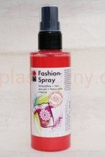 Farba do tkanin z atomizerem 100 ml 232 czerwona Marabu Fashion Spray