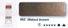 Farba akwarelowa Aquarell Horadam Schmincke nr 652 seria 2 walnut brown tubka 15 ml