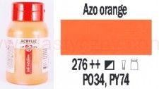 Farba akrylowa ArtCreation Talens 750 ml Azo orange nr 276