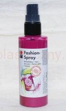 Farba do tkanin z atomizerem 100 ml 005 róż ciemny Marabu Fashion Spray