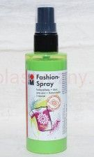Farba do tkanin z atomizerem 100 ml 061 zielona jasna Marabu Fashion Spray