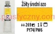 Farba olejna Van Gogh oil Talens 200 ml 269 AZO YELLOW MEDIUM seria 1