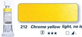 Farba akwarelowa Horadam Schmincke tubka 5 ml nr 212 Chrome yellow light, no lead