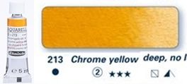 Farba akwarelowa Horadam Schmincke tubka 5 ml nr 213 Chrome yellow deep, no lead