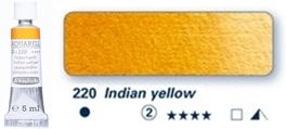 Farba akwarelowa Horadam Schmincke tubka 5 ml nr 220 Indian yellow
