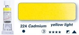 Farba akwarelowa Horadam Schmincke tubka 5 ml nr 224 Cadmium yellow light
