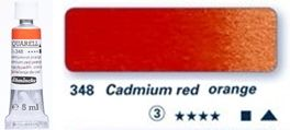 Farba akwarelowa Horadam Schmincke tubka 5 ml nr 348 Cadmium red orange