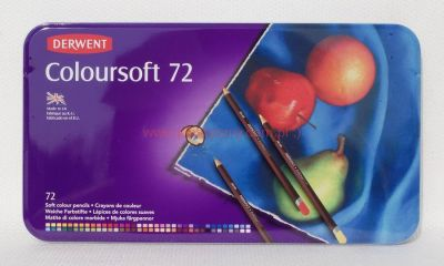 Komplet kredek Coloursoft 72 kol