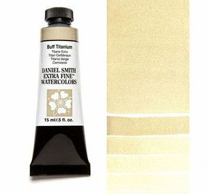 Farba akwarelowa Daniel Smith extra fine watercolour 009 seria 1 buff titanium 15 ml