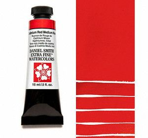Farba akwarelowa Daniel Smith 222 Cadmium Red Medium Hue seria 3 15 ml