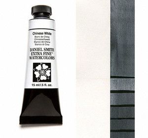 Farba akwarelowa Daniel Smith 023 chinese white extra fine watercolor seria 1 15 ml