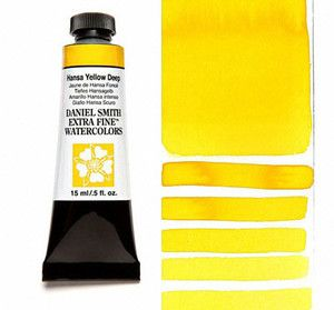 Farba akwarelDaniel Smith 040 Hansa Yellow Deep extra fine watercolour seria 1 15 ml