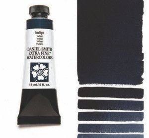 Farba akwarelowa Daniel Smith seria 1 046 INDIGO extra fine watercolor 5 ml