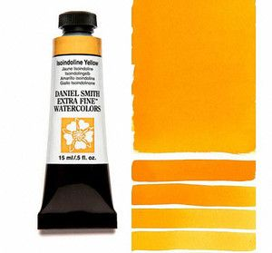 Farba akwarelowa Daniel Smith 218 Isoindoline Yellow extra fine watercolor seria 2 15 ml