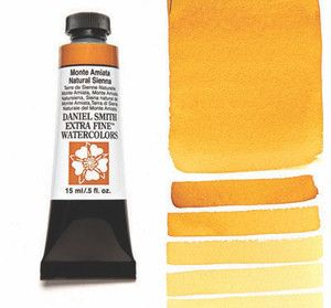 Farba akwarelowa Daniel Smith 056 Monte Amiata Natural Sienna extra fine watercolours seria 1 15 ml