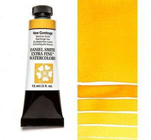 Farba akwarelowa Daniel Smith extra fine watercolor 060 New Gamboge seria 1 15 ml