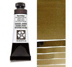 Farba akwarelowa Daniel Smith 097 Umbra naturalna extra fine watercolor seria 1 15 ml