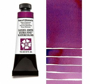 Farba akwarelowa Daniel Smith 101 ROSE OF ULTRAMARINE extra fine watercolor  seria 1 15 ml