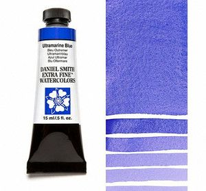 Farba akwarelowa Daniel Smith 106 ULTRAMARINE BLUE extra fine watercolor  seria 1 15 ml