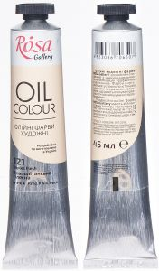 Rosa Gallery farba olejna Oil colour nr 121 naples flesh 45 ml