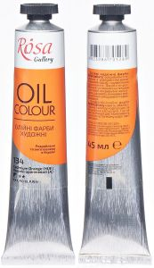Rosa Gallery farba olejna Oil colour nr 134 cadmium orange 45 ml