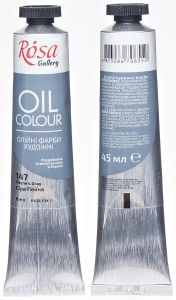 Rosa Gallery farba olejna Oil colour nr 147 Payne\'s gray 45 ml