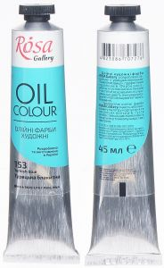 Rosa Gallery farba olejna Oil colour nr 153 turkish blue 45 ml