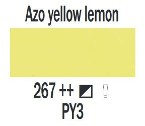 Farba akrylowa ArtCreation Talens 200 ml Azo yellow lemon nr 267