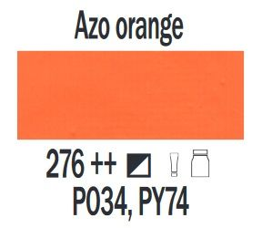 Farba akrylowa ArtCreation Talens 200 ml Azo Orange nr 276
