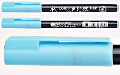 Pisak pędzelkowy Koi Coloring Brush Pen Sakura #125 sky blue