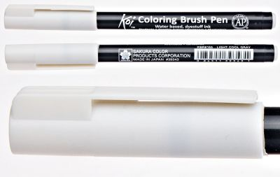 Pisak pędzelkowy Koi Coloring Brush Pen Sakura #153 light cool gray