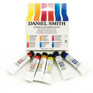 Komplet farb akwarelowych Daniel Smith Essentials sets 6x5 ml
