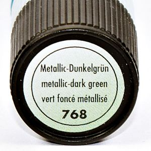 Relief,konturówka Marabu Metallic Liner 25 ml 768 dark green