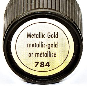 Relief,konturówka Marabu Metallic Liner 25 ml 784 gold