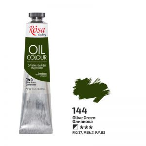 Rosa Gallery farba olejna Oil colour nr 144 olive green 45 ml