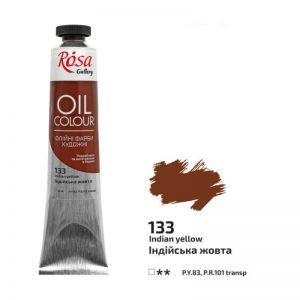 Rosa Gallery farba olejna Oil colour nr 133 Indian yellow 45 ml